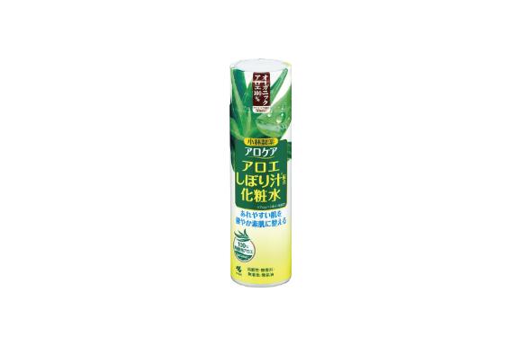 アロケア アロエしぼり汁配合化粧水 オーガニックアロエ100% 180ml
