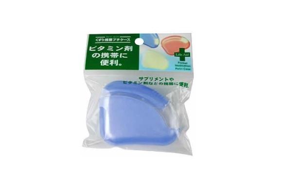 くすり携帯プチケース ブルー / 0-6465-03