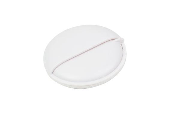 Lelouch(ルルーシュ) ピルケース 薬ケース 手のひらサイズ 選べる4カラー コンパクト 軽量 (ホワイト)