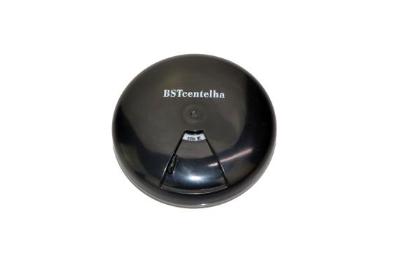 BSTcentelha 薬ケース, 7日量分 回転できるピルケース 薬を飲み忘れ防止のように (黒)