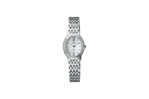 [セイコー]SEIKO 腕時計 EXCELINE エクセリーヌ ソーラー スーパークリアコーティング カーブサファイアガラス ダイヤモンド SWCQ047 レディース
