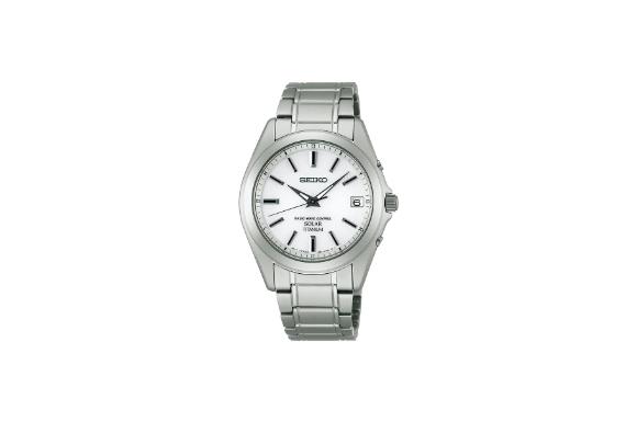 [セイコー]SEIKO 腕時計 SPIRIT スピリット ソーラー電波修正 サファイアガラス スーパークリア コーティング 日常生活用強化防水 (10気圧) チタン SBTM213 メンズ