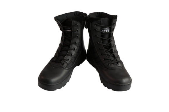 SWAT S.W.A.T ミリタリーブーツ ジャングルブーツ 黒色 ブラック 27.0cm