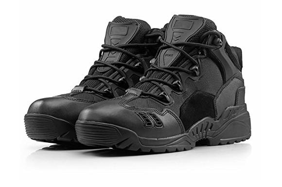 (B&G)米軍SWAT ミリタリー ブーツ メンズ ブラック  サバイバルゲーム  防水  耐久性 サバゲー 靴 釣り 登山 アウトドア