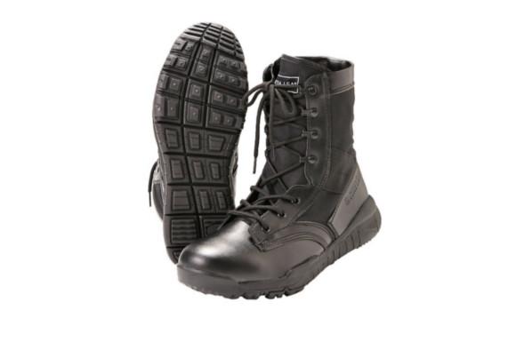 タクティカルブーツ ミリタリー サバゲー ブーツ サイド ジッパー 【 僅か333g 特許出願中 】EARTH LEAD