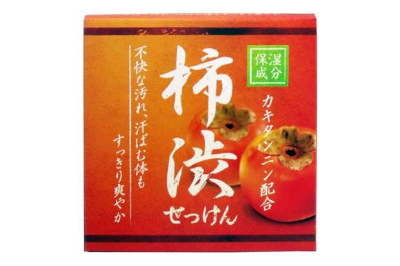 クロバーコーポレーション 柿渋配合石けん HYA-SKA 80G