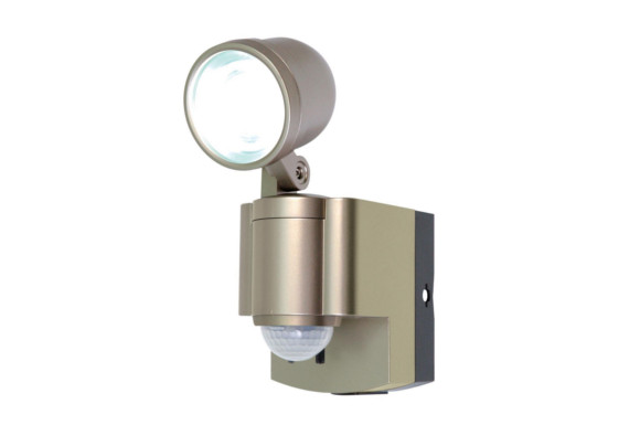 ELPA 屋外用LEDセンサーライト 乾電池 3wLED 1灯 ESL-301BT