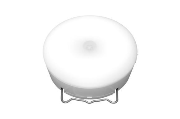 アイリスオーヤマ 乾電池式屋内センサーライト マルチタイプ 昼白色相当 BSL40MN-W