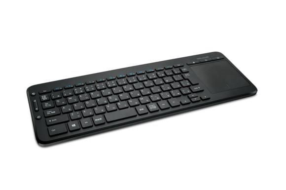 マイクロソフト キーボード ワイヤレス/セキリュティ(暗号化機能搭載)/防滴 All-in-One Media Keyboard N9Z-00029