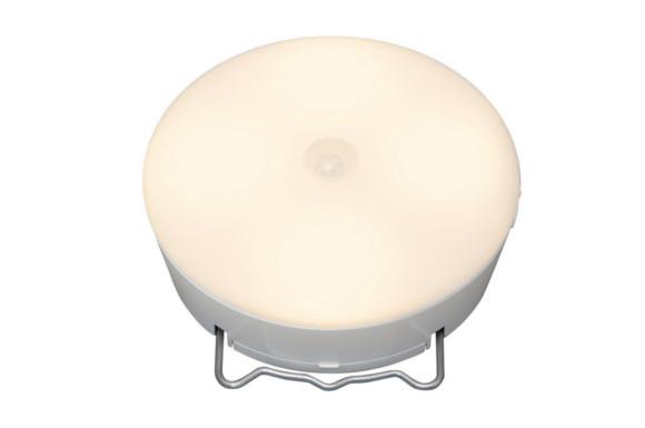 アイリスオーヤマ 乾電池式屋内センサーライト マルチタイプ 電球色相当 BSL40ML-W