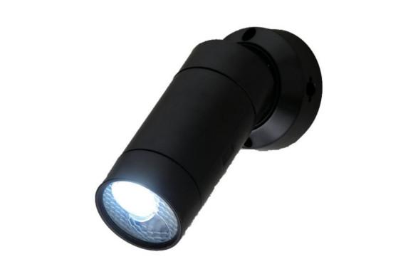 ELPA 屋外用LEDセンサーライト 0.5W ESL-05BT(BK)