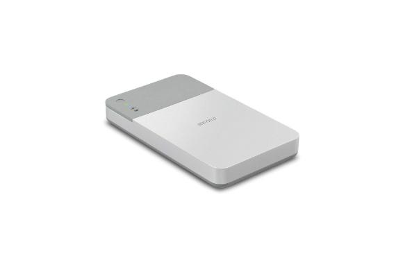 BUFFALO ミニステーション エア Wi-Fi接続ポータブルHDD 1TB HDW-PD1.0U3-C