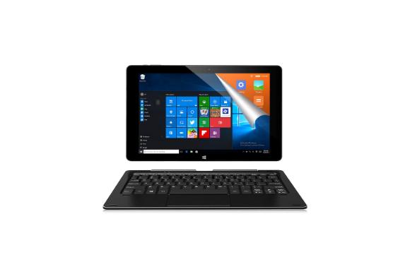 ALLDOCUBE iwork10 Pro/i1002 2-in-1タブレットPC(キーボード付)、10.1インチ1920 x1200 IPSスクリーン、Windows 10+Android 5.1、Intel Atom X5 Z8350クアッドコア、4GB RAM、64GB ROM、USBタイプ-C、HDMI出力、ブラック